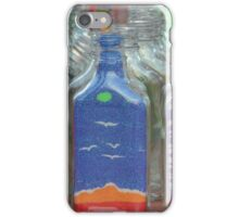 Sand art flasks iPhone Case/Skin
