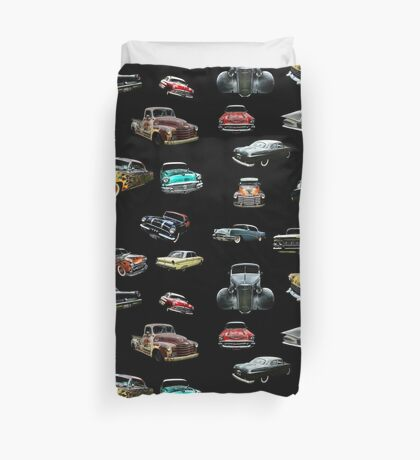 Hot Rod Heaven Duvet Cover