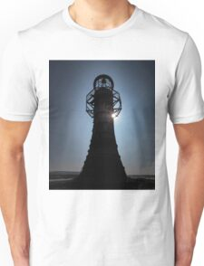 Whitford lighthouse north Gower Unisex T-Shirt
