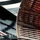 Noisy end of the Blackbird, USAF Hangar, Duxford, Cambridgeshire England by Cliff Williams
