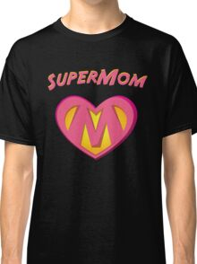 SuperMom Heart - Proud Mom Mother Hero  Classic T-Shirt