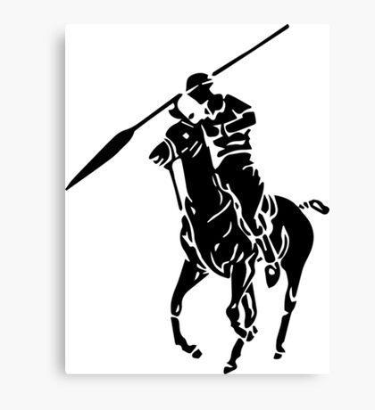 Spear Polo  Canvas Print