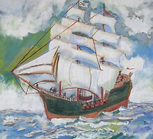 Pirate Ship by Hal Newhouser