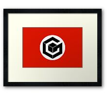Cube Against Humanity Framed Print