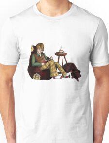 Remus, Tea, Black Dog, Colour Unisex T-Shirt