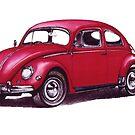 Volkswagen Beetle 1957. by mrclassic