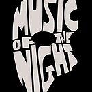 Music of the night by RebeccaMcGoran