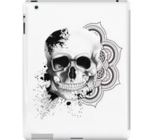 Monochrome Skull iPad Case/Skin