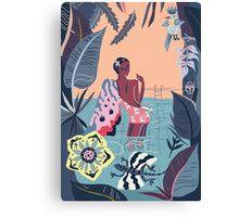 Jungle beat Canvas Print