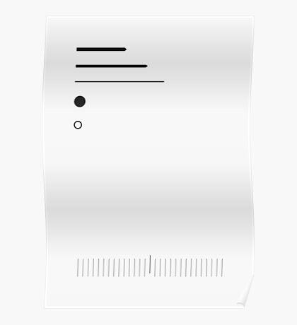 Deconstructed watchface 01 Poster