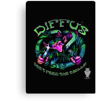 "Diffus ""Don´t Feed the Trolls! EP"" Canvas Print"