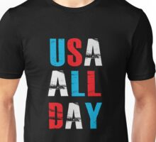 USA ALL DAY - Proud American  Unisex T-Shirt