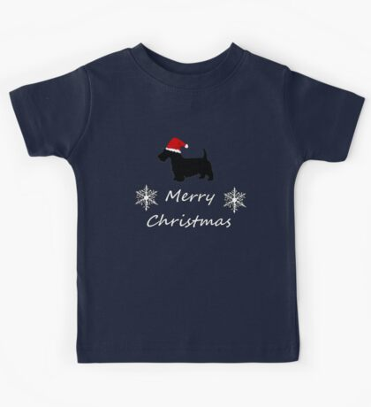 Christmas Terrier Kids Tee