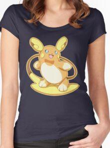 Pokemon - Alolan Raichu Women's Fitted Scoop T-Shirt