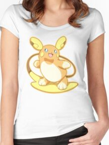 Pokemon - Alolan Raichu Women's Fitted Scoop T-Shirt