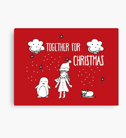 Together for Christmas Canvas Print
