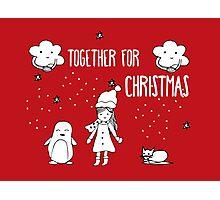 Together for Christmas Photographic Print