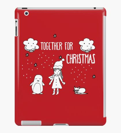 Together for Christmas iPad Case/Skin
