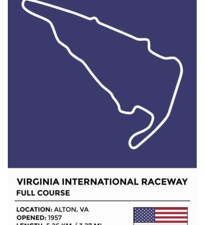 Virginia International Raceway Sticker