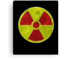 Radioactive Symbol version 3 Canvas Print
