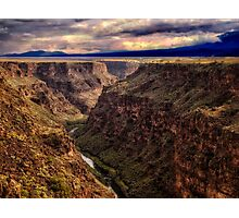 Rio Grande River Gorge Photographic Print