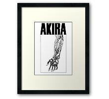 Akira Tetsuo Arm Framed Print