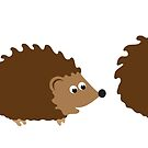 Hedgehogs by Mrdoodleillust