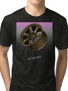 Racing Wheel Tri-blend T-Shirt