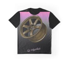 Racing Wheel Graphic T-Shirt