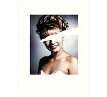 Twin Peaks - Laura Palmer - Fire Walk With Me Black ed. Art Print
