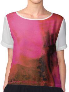 My Bloody Valentine - Loveless (Graphic t-shirt edition) Chiffon Top
