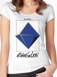 Neon Genesis Evangelion Ramiel Women's Fitted Scoop T-Shirt