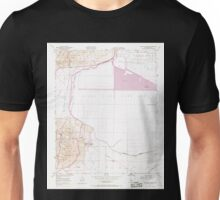 USGS TOPO Map California CA Mouth of Kern 293244 1950 24000 geo Unisex T-Shirt