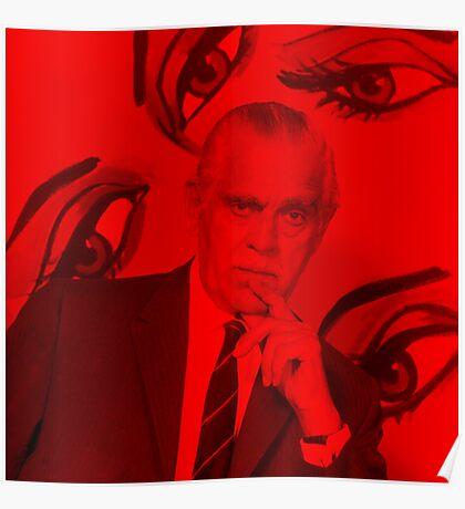 Boris Karloff - Celebrity (Square) Poster