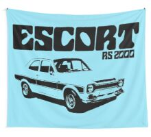 Ford Escort RS 2000 Men's Classic Car T-Shirt Wall Tapestry