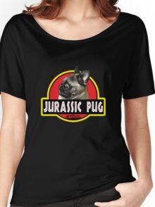 Jurassic Pug Women's Relaxed Fit T-Shirt