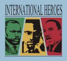 INTERNATIONAL HEROES Baby Tee