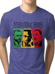 INTERNATIONAL HEROES Tri-blend T-Shirt