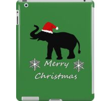 Christmas Elephant iPad Case/Skin