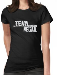 Team Negan - The Spike Bat Walking Zombie Dead  Womens Fitted T-Shirt