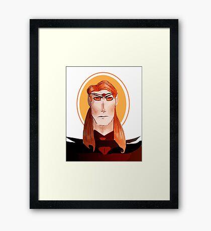 The Dork Lord Framed Print