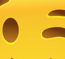 Winking Face Emoij Sticker