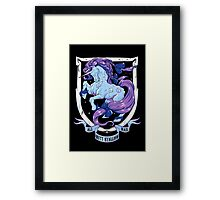 Diamond Monarch Framed Print