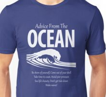 Advice From The Ocean Make Waves Cute Unisex T-Shirt