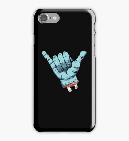 Shaka brah! - Zombie iPhone Case/Skin