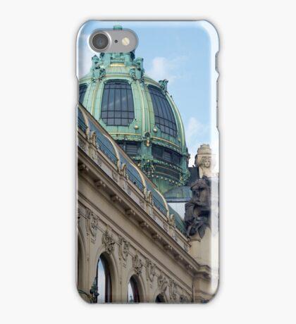 Ornate dome in Prague iPhone Case/Skin