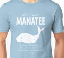 Advice From A Manatee Breathe Deeply Unisex T-Shirt