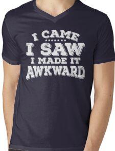 I Came I Saw I made It Awkward Goofy Tee Mens V-Neck T-Shirt