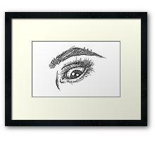 Eye #2 Framed Print