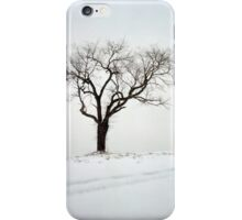 Old Tree in the Snow iPhone Case/Skin